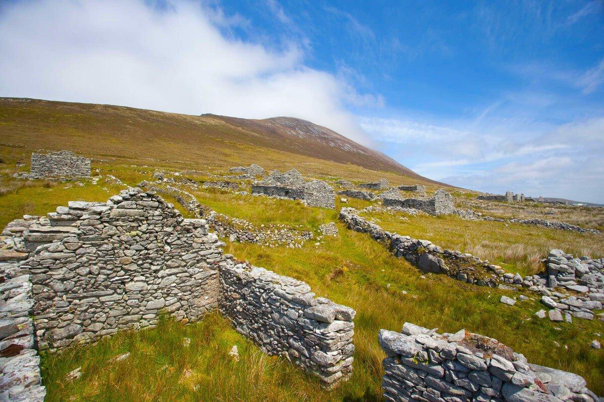 Desserted Village | Achill Island