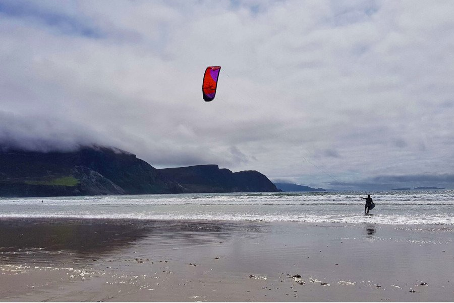 Kite Surfing in Achill